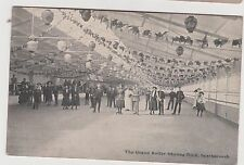Scarborough Edwardian Printed Postcard Is The Grand Hotel Roller Skating Rink.