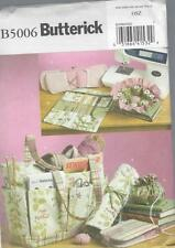 BUTTERICK SEWING PATTERN SEWING & KNITTING TOTE & ACCESSORIES B5006