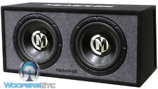 "MEMPHIS PRXE12D 12"" 1200W PORTED BOX SUBWOOFERS LOADED ENCLOSURE BASS SPEAKERS"