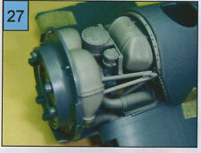 GMALB3203 1/32 CORSAIR F4U-1A ENGINE  BAY  AFTER  MARKET TAMIYA TRUMPETER