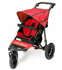 Brand new in box Out n About nipper single 360  V4 pushchair carnival red & pvc