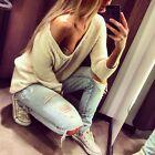 Women Long Sleeve Knitwear Jumper Cardigan Coat Jacket New Casual Sweater Tops
