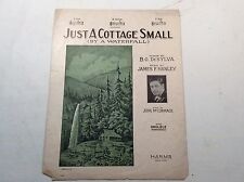 "Antique Piano Sheet Music,""Just a Cottage Small"", DeSylva;Hanley;McCormack"