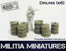 28mm Modern Wargames / Roleplaying - Militia Miniatures - Oil Drums
