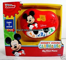 Disney MICKEY MOUSE CLUBHOUSE    My First Toddler PIANO    Play Along w/Song