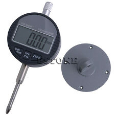 "0.01mm/0.0005"" Range 0-25.4mm/1"" Gauge Digital Dial indicator Precision Tool New"