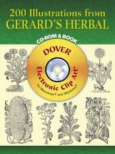 200 Illustrations from Gerard's Herbal CD-ROM and Book (Dover Electronic Clip Ar