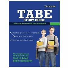 TABE Study Guide : TABE Test Prep with Practice Test Questions (2013, Paperback)