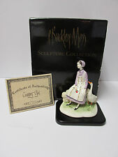"""P.Buckley Moss'  """"Country Girl"""" Porcelain Sculpture*New in box with COA"""