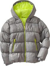 OLD NAVY Girls Frost Free Quilted Puffer Winter Jacket Coat XS,S,M 5,6,7,8,9 NEW
