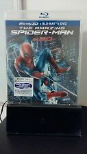 The Amazing Spider-Man 3D (Blu-ray/DVD,UV 2012) Brand New - Free Shipping