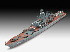 Battlecruiser Petr Velikiy, Revell Ship Model Bausatz 1:700, 05151
