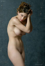 Fine Art Nude model, 8.5x11 signed color photo by Craig Morey: Kymberly 5203