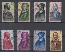 ESPAÑA (1961) SERIE NUEVA SIN FIJASELLOS MNH SPAIN - EDIFIL 1374/81 FORJADORES