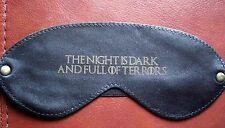Sleep Mask Blindfold Leather Game of Thrones The Night is Dark & Full of Terrors