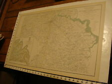 1890's Vintage Civil War Map: preliminary map of South Side Of James River Va.