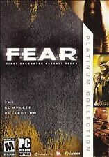 F.E.A.R.: First Encounter Assault Recon -- Platinum Collection (PC, 2007)
