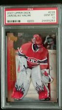 2007-08 JAROSLAV HALAK UD Young Guns RC ROOKIE PSA 10 GEM MINT