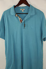 Burberry Brit Logo Trim Fit Pique Polo Shirt Size XXL