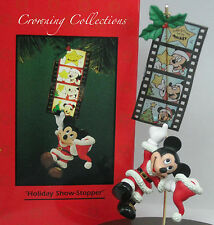Enesco Mickey Mouse Holiday Show Stopper Disney Ornament Santa Claus Film Strip
