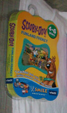 V TECH SMILE SMARTRIDGE SCOOBY DOO FUNLAND FRENZY GAME NEW FACTORY SEALD