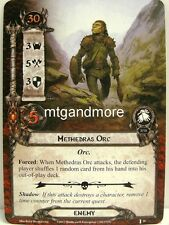 Lord of the Rings LCG  - 1x Methedras Orc  #026 - The Voice of Isengard