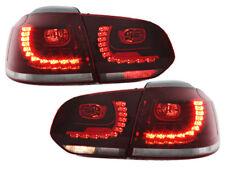Für VW Golf 6 VI Limousine R-Look LED Rückleuchten Rot-klar Europaweit zugelasen