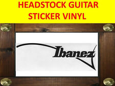 IBANE BLACK LEFT HANDED ZURDO HEADSTOCK STICKER VISIT MY STORE FOR GUITAR CUSTOM