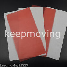 1 Box 20 Sheets Dental Lab Base Plate Red Utility Wax Red Modeling Wax 1.3mm