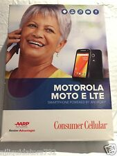 Consumer Cellular Moto E LTE Android™ Smartphone(OPEN BOX-NO SIM CARD) LIGHT USE