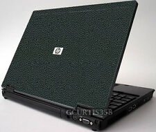 LEATHER Vinyl Lid Skin Cover Decal fits HP Compaq NC8430 Laptop