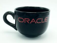 Oracle Logo Computer Company Office Black Red 12 fl oz Coffee Mug Cup