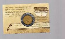 repubblica moneta 500 lire bimetallica 1987