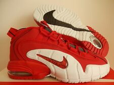 NIKE AIR MAX PENNY UNIVERSITY RED-WHITE-BLACK SZ 8.5 [685153-600]