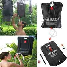 20L Solar Heated Portable Camping Shower Bag Outdoor Hiking PVC Water Bag New