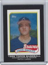 2014 Topps Manufactured Rookie Image Patch John Smoltz RCP-25 1989 Topps