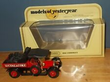 Matchbox Yesteryear Y13 Crossley Evans Bros Dull Dark Red Seats Bright Red Body