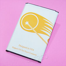 New High Quality 5370mA Replacement Battery for Net10 Samsung Galaxy Note 3 CDMA