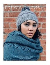ROWAN LOVES 5...  KNITTING PATTERN BOOK - kid classic, hemp tweed