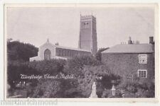 Suffolk, Woodbridge Church Postcard, B487