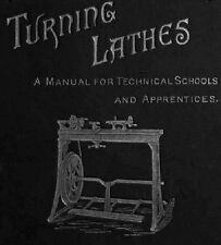 Turning Lathes: A Guide to Turning, Screw-Cutting, Metal-Spinning Book on CD
