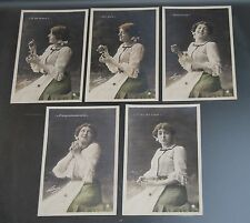 Nadar lot de 5 cartes postales photos série n°791