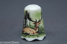 TCC Sophienthal Germany 'Fallow Deer' China Thimble B/61