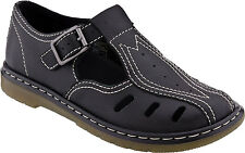 Dr. Martens Women's Cesca Cut Out T-Bar Mary Jane Bright Black  US 8 EU 39 UK 6