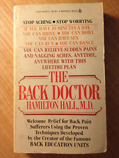 Back Doctor by Hamilton Hall (1982, Paperback) store#2913