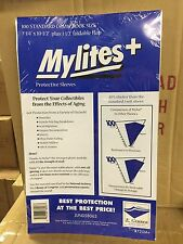 "1 Pack (100) E.Gerber, 725+ STANDARD Mylites, Comic Book bags 7 1/4"" x 10 1/2"""