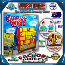 Guess Who Game- The Original Guessing Game Game Family Fun Kids Adults Funny