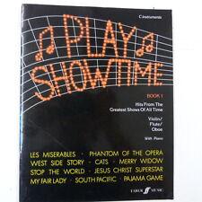 Oboe Play Showtime Libro 1, para c instrumentos Violín / Flauta