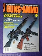 GUNS & AMMO - CROSMAN AIR PISTOL - JULY 1981