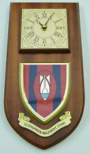 33 EOD ENGINEERS CLASSIC HAND MADE TO ORDER REGIMENTAL WALL CLOCK